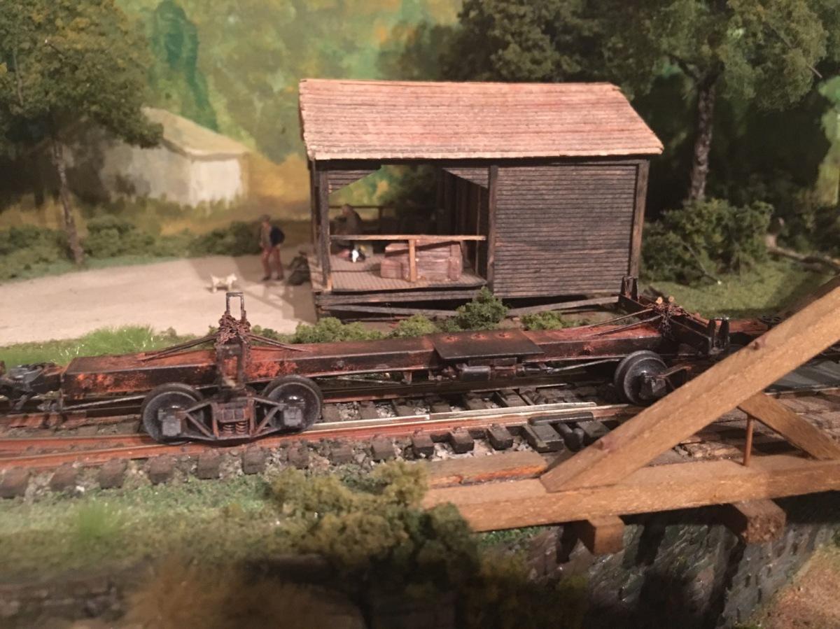 Cars 23 Scratch Built Skeleton Log Gordys Model Railroads Railroad Wiring Train Layout Layouts